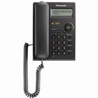 Panasonic Corded Phone with Caller ID (Black)