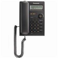 Panasonic Corded Phone with Caller ID (Black)