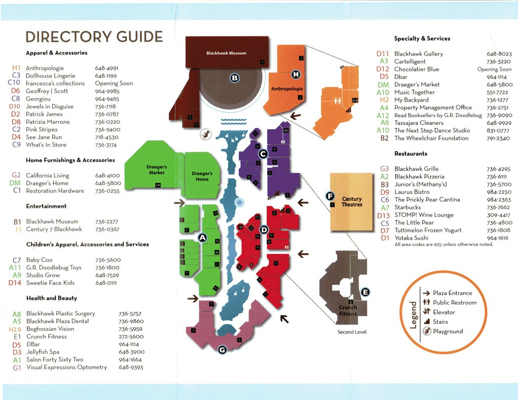 Oakbrook Center Map Oakbrook Mall Map | Kitchen 2018
